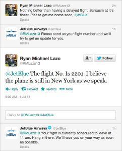 Jetblue social media