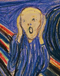 """The Scream"" by Munch"