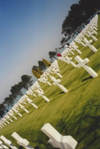The Normandy American Cemetery and Memorial.  My own photo.
